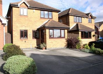 Thumbnail 3 bed detached house for sale in Lavender Close, Tibshelf, Alfreton