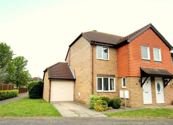 Thumbnail 3 bedroom semi-detached house for sale in Tenby Way, Eynesbury, St. Neots