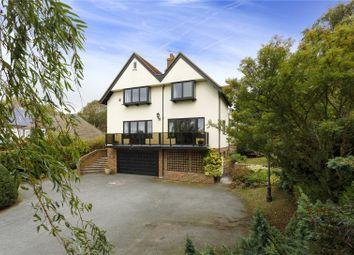 Thumbnail 4 bed detached house for sale in Sandling Road, Saltwood, Hythe, Kent