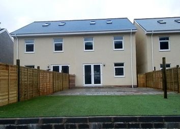 Thumbnail 4 bed semi-detached house for sale in Plot 1, Brynhyfryd Street, Cwmaman
