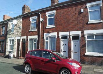 Thumbnail 2 bedroom terraced house for sale in Ashworth Street, Fenton, Stoke On Trent