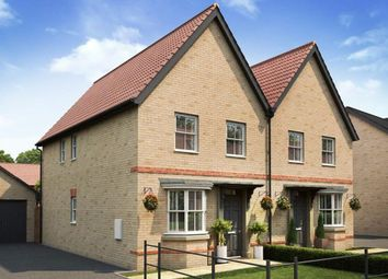 "Thumbnail 3 bedroom semi-detached house for sale in ""Oakfield"" at Caistor Lane, Poringland, Norwich"