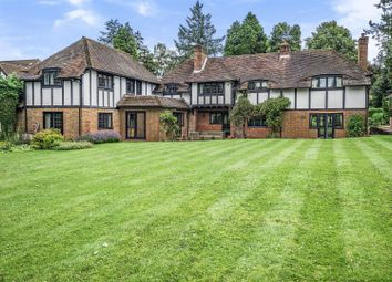 Thumbnail 6 bed detached house for sale in The Warren, East Horsley, Leatherhead