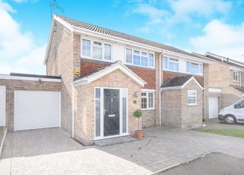 Thumbnail 3 bedroom semi-detached house for sale in Belmont Close, Springfield, Chelmsford