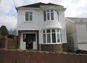 Thumbnail 4 bed detached house for sale in Martin Street, Clydach, Swansea