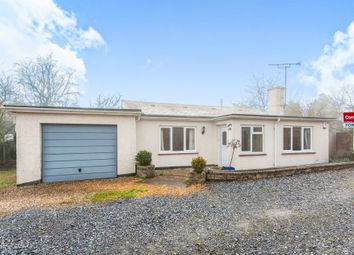 Thumbnail 3 bed detached bungalow for sale in Woodwater Lane, Exeter