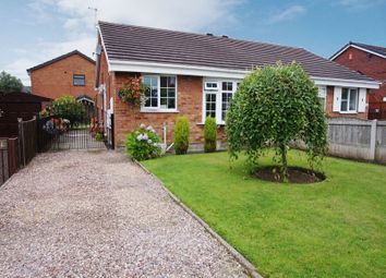 Thumbnail 2 bed semi-detached bungalow for sale in June Road, Fenpark, Stoke-On-Trent, Staffordshire