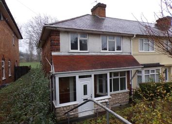 Thumbnail 3 bedroom end terrace house for sale in Finchley Road, Kingstanding, Birmingham, West Midlands