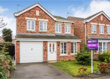 Thumbnail 4 bed detached house for sale in Moat Way, Selby