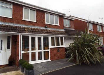 Thumbnail 4 bed semi-detached house for sale in Cheswick Close, Redditch, Worcestershire