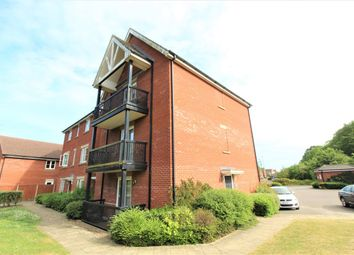 Thumbnail 2 bed flat for sale in Worsdell Close, Ipswich