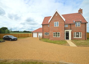 Thumbnail 5 bed detached house for sale in The Street, Gazeley, Newmarket