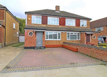 Thumbnail 3 bed semi-detached house for sale in Dover Close, Romford