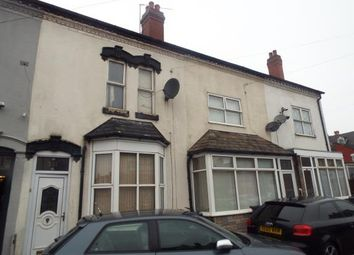 Thumbnail 4 bedroom terraced house for sale in Charles Road, Small Heath, Birmingham, West Midlands