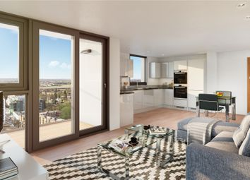 Thumbnail 2 bed flat for sale in Sutton Court Road, Sutton
