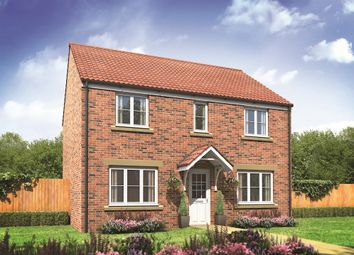 "Thumbnail 4 bed detached house for sale in ""The Chedworth"" at Fields Road, Wootton, Bedford"