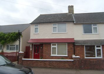 Thumbnail 2 bedroom semi-detached house to rent in Chantry Road, Kempston, Bedford