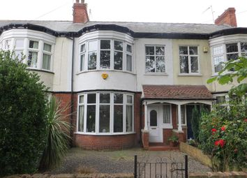 Thumbnail 3 bed terraced house for sale in Park Avenue, Hull