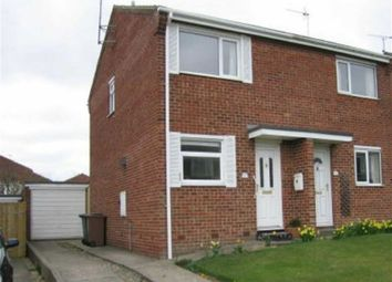 Thumbnail 2 bed semi-detached house to rent in Rosewood Close, Bridlington, Bridlington