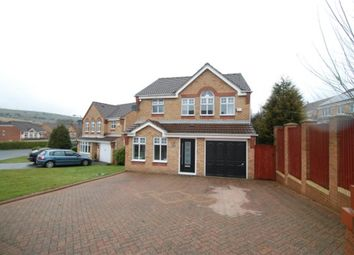 Thumbnail 4 bed detached house for sale in Crowswood Drive, Stalybridge, Cheshire