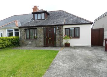 Thumbnail 4 bed semi-detached bungalow for sale in Langford Road, Johnston, Haverfordwest
