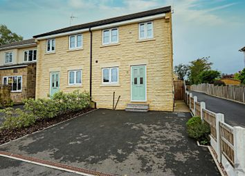 Thumbnail 3 bed semi-detached house for sale in Adlington Avenue, Wingerworth, Chesterfield, Derbyshire
