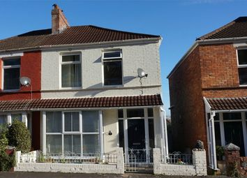 Thumbnail 3 bed semi-detached house for sale in Park Avenue, Mumbles, Swansea