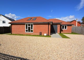 Thumbnail 4 bed detached bungalow for sale in London Road, Horndean, Waterlooville