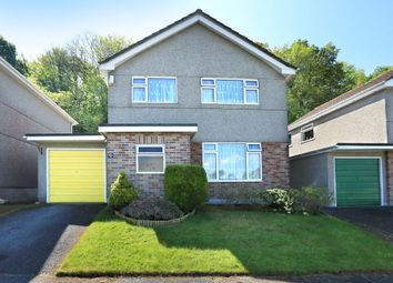 Thumbnail 3 bedroom detached house for sale in Greenhill Close, Plymstock, Plymouth