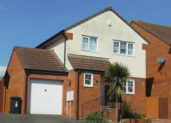 Thumbnail 3 bed detached house for sale in Chaucer Rise, Exmouth