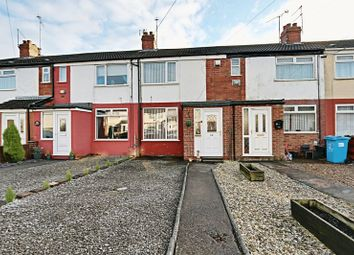 Thumbnail 2 bed terraced house for sale in Brooklands Road, Hull