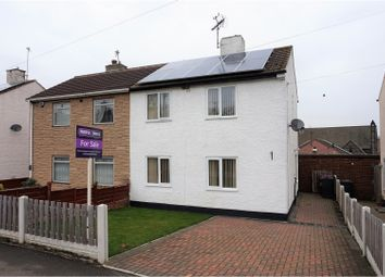 Thumbnail 2 bed semi-detached house for sale in Circular Drive, Sheffield