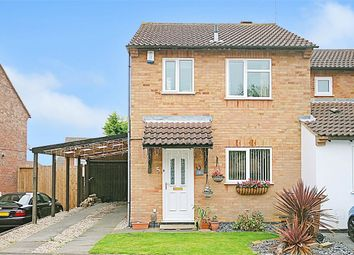 Thumbnail 3 bedroom semi-detached house for sale in Alvis Court, Rectory Farm, Northampton