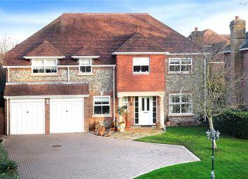 Thumbnail 5 bed detached house for sale in Manor Gardens, Rustington, Littlehampton
