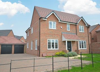 Thumbnail 4 bedroom detached house for sale in Home Farm Drive, Boughton, Northampton
