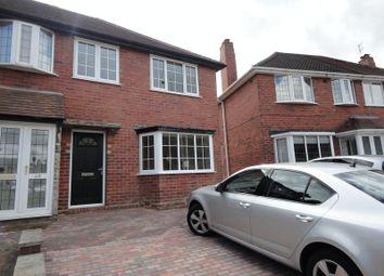 Thumbnail 3 bed semi-detached house to rent in Thornbridge Avenue, Great Barr, Birmingham