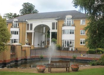 Thumbnail 2 bed flat to rent in St Davids Drive, Englefield Green, Surrey