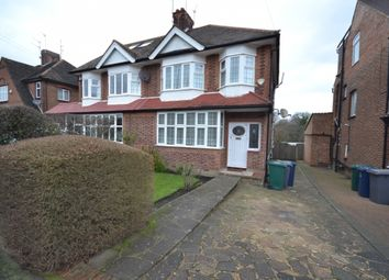 Thumbnail 3 bed semi-detached house to rent in Chanctonbury Way, Woodside Park, Finchley, London