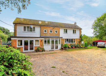 Thumbnail 4 bed detached house for sale in Basingstoke Road, Greenham, Thatcham