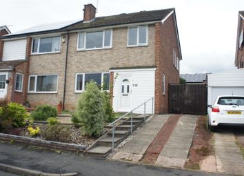 Thumbnail 3 bed semi-detached house for sale in Stoneleigh Way, Leicester