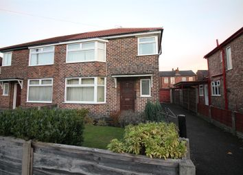Thumbnail 3 bed semi-detached house for sale in Humphrey Park, Urmston, Manchester