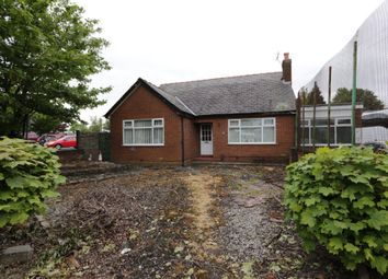 Thumbnail 4 bed detached bungalow for sale in Fiddlers Lane, Irlam, Manchester
