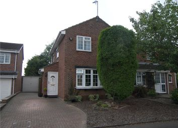 Thumbnail 3 bed semi-detached house for sale in Skiddaw Drive, Mickleover, Derby