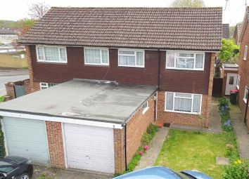 Thumbnail Semi-detached house for sale in Yarmouth Close, Crawley