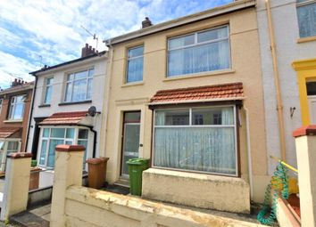 Thumbnail 3 bed terraced house for sale in Faringdon Road, Plymouth, Devon