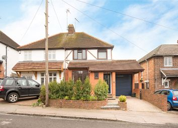 Thumbnail 3 bed semi-detached house for sale in Ox Lane, Harpenden, Hertfordshire