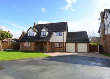 Thumbnail 4 bed detached house for sale in Cobham Close, Yarnfield, Stone