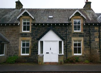 Thumbnail 4 bed terraced house for sale in St. Fillans, Crieff
