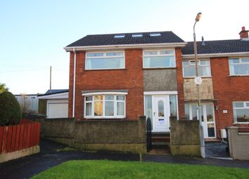 Thumbnail 3 bedroom terraced house for sale in Queens Avenue, Newtownabbey