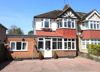 Thumbnail 5 bed semi-detached house for sale in London Road, Stoneleigh, Epsom